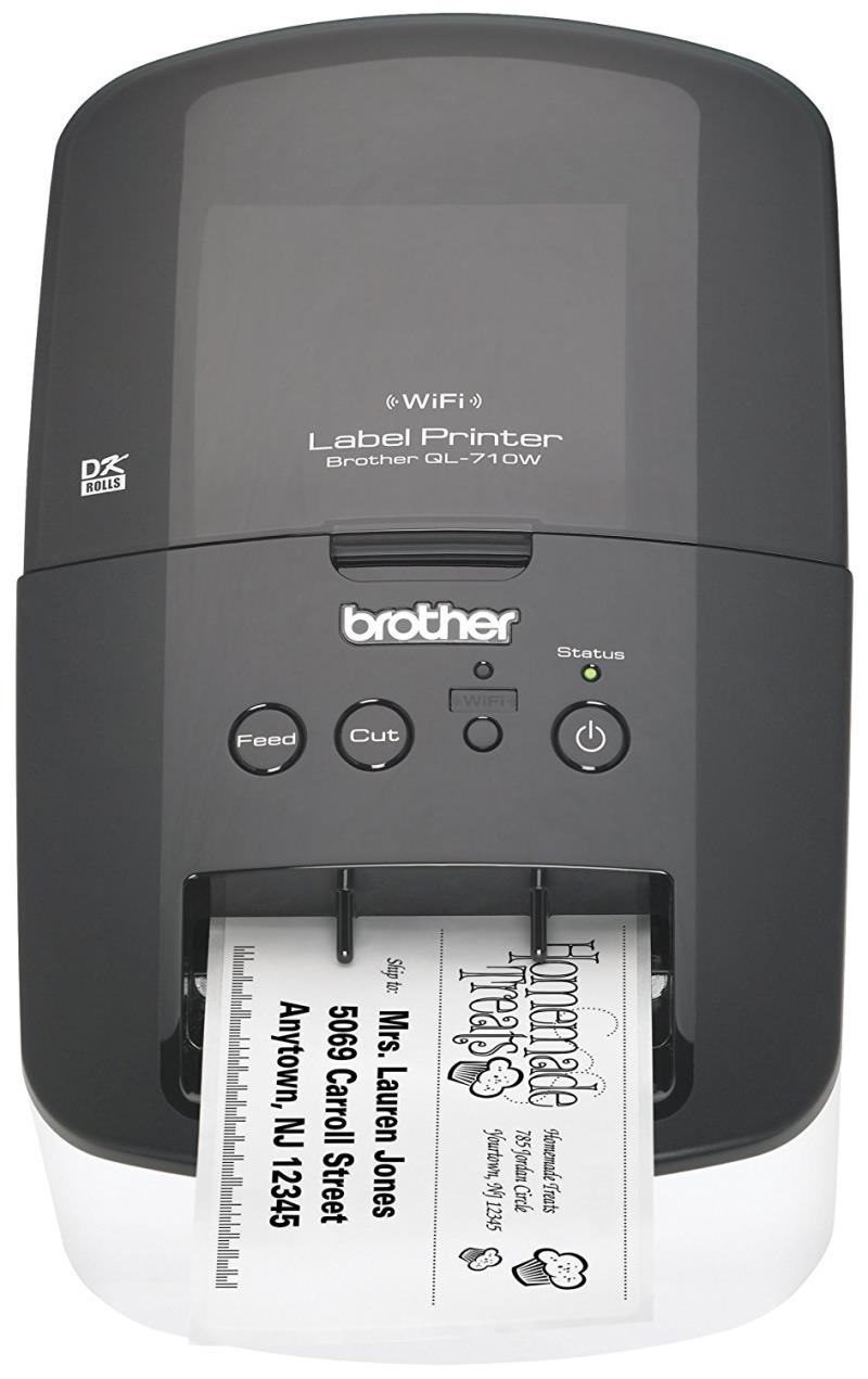 Brother Printer RQL710W High Speed Label Printer with Wireless Networking
