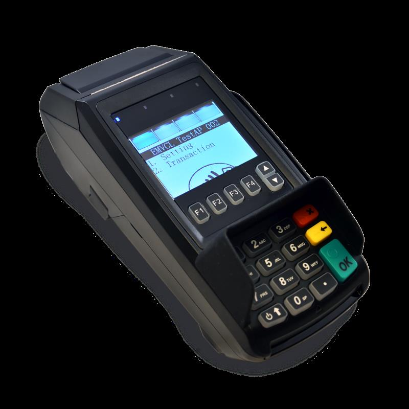Dejavoo Z8 EMV CTLS (IP Dial) Wifi Credit Card Terminal and Tri-Comm