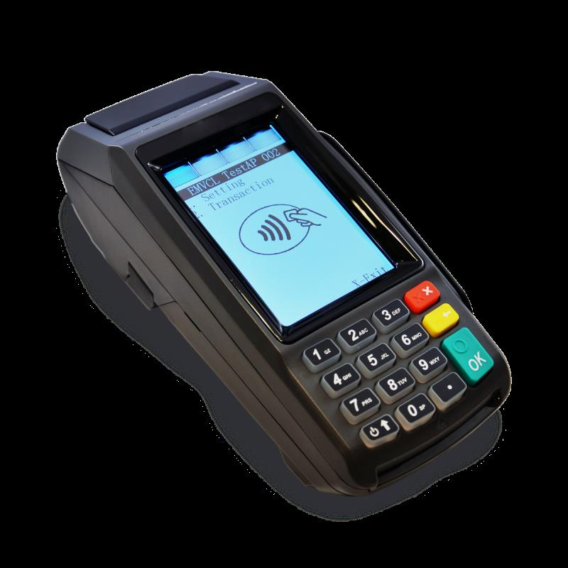 Dejavoo Z11 EMV CTLS (IP Dial) Wifi Credit Card Terminal and Tri-Comm