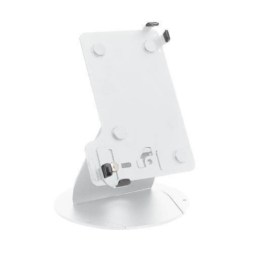 MMF POS Lockable Tablet Stand for 7-8 Inch Tablets, White (MMFTS08106)