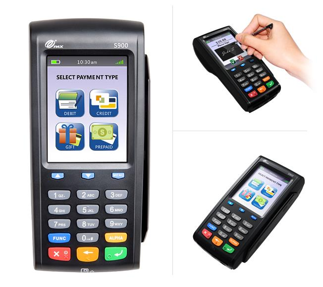PAX S900 3G Mobile Payment Terminal