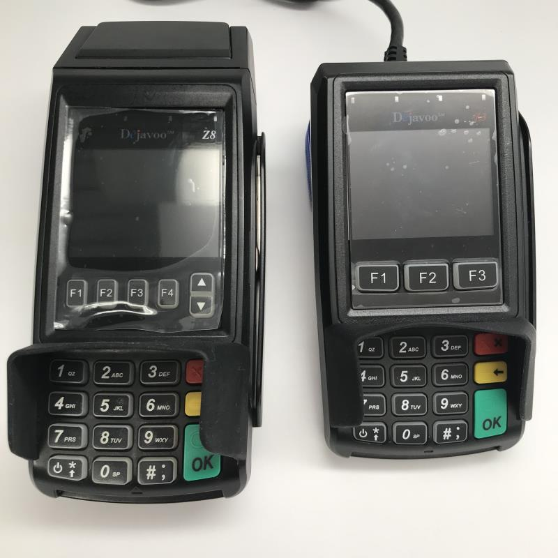 Dejavoo Z8 EMV CTLS Credit Card Terminal and Z3 PIN Pad Bundle