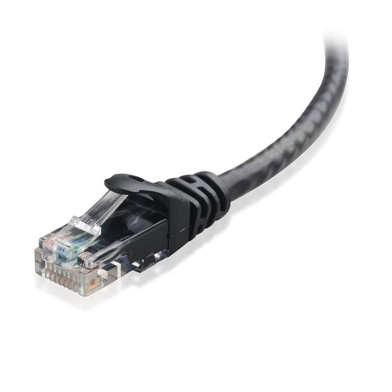 7 Foot Cat6 Ethernet Cable-Black