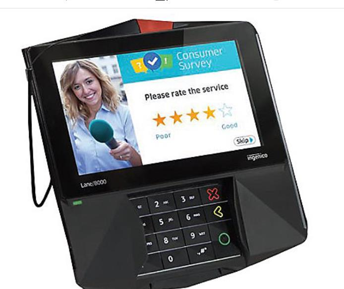 Ingenico Lane/8000 Credit Card Terminal