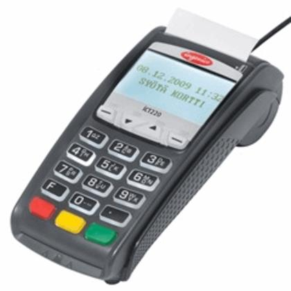 Ingenico ICT 220 DC EMV Refurb Credit Card Terminal -  Wells 350