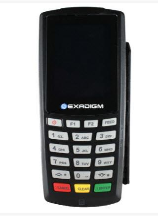 Exadigm Mobile Payment Terminal – NX2200e