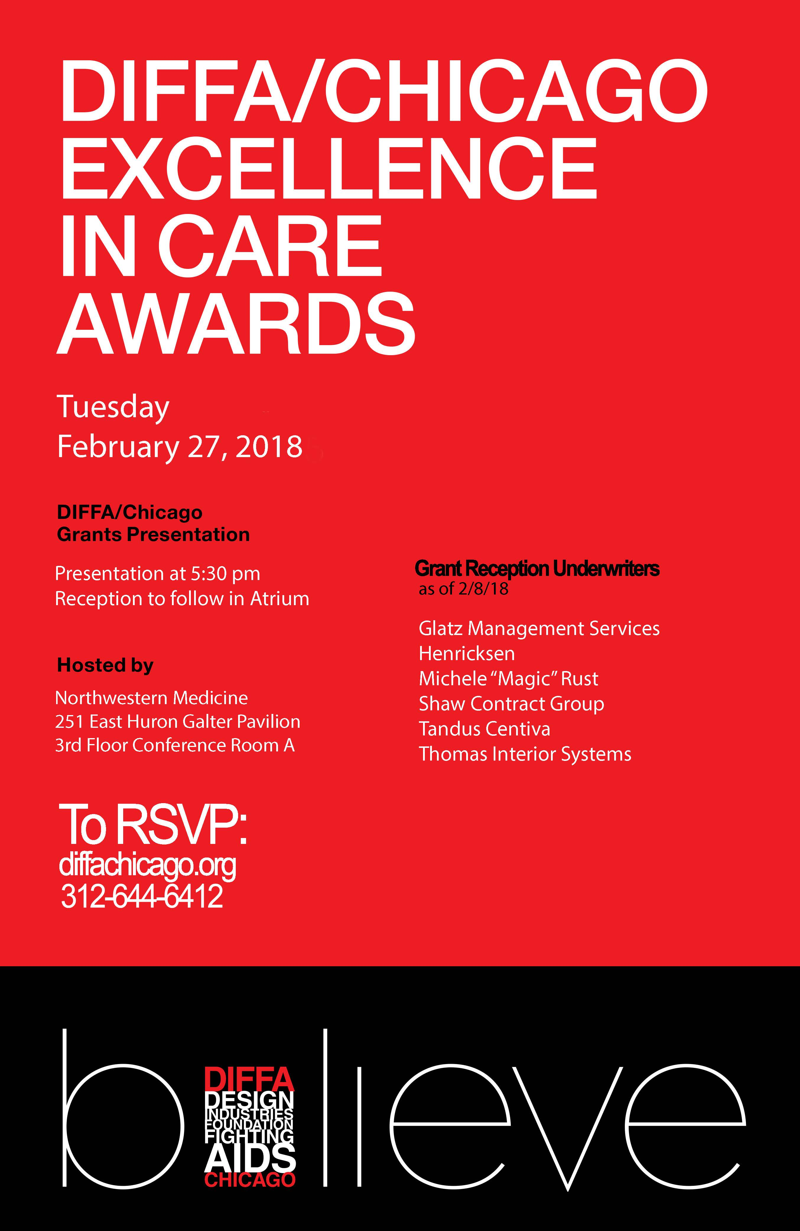 Excellence In Care Awards and Grants Reception