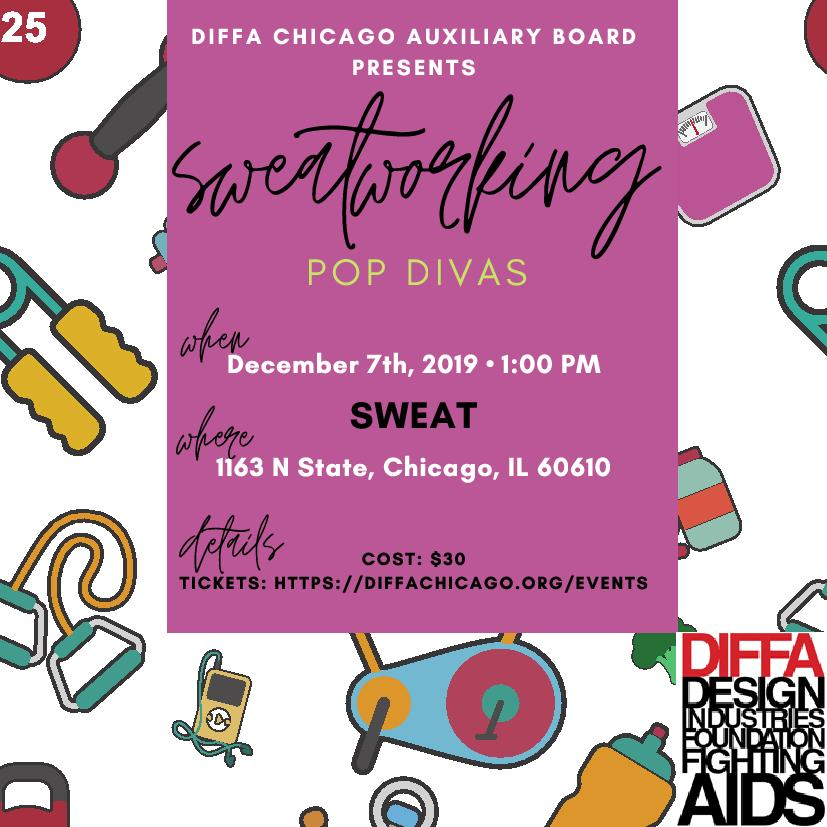 DIFFA/Chicago Sweatworking Event- Pop Divas