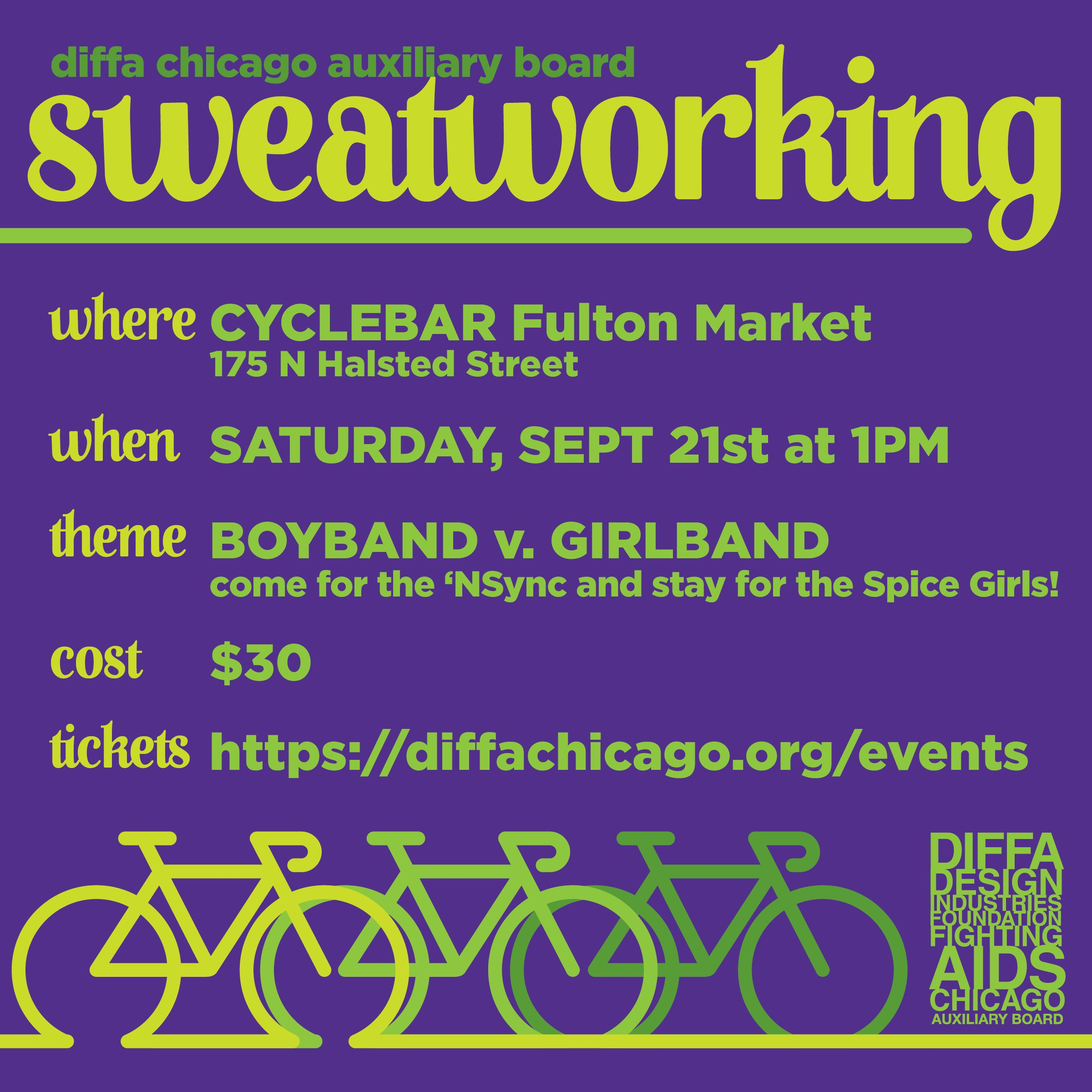 DIFFA/Chicago Auxiliary Board Sweatworking