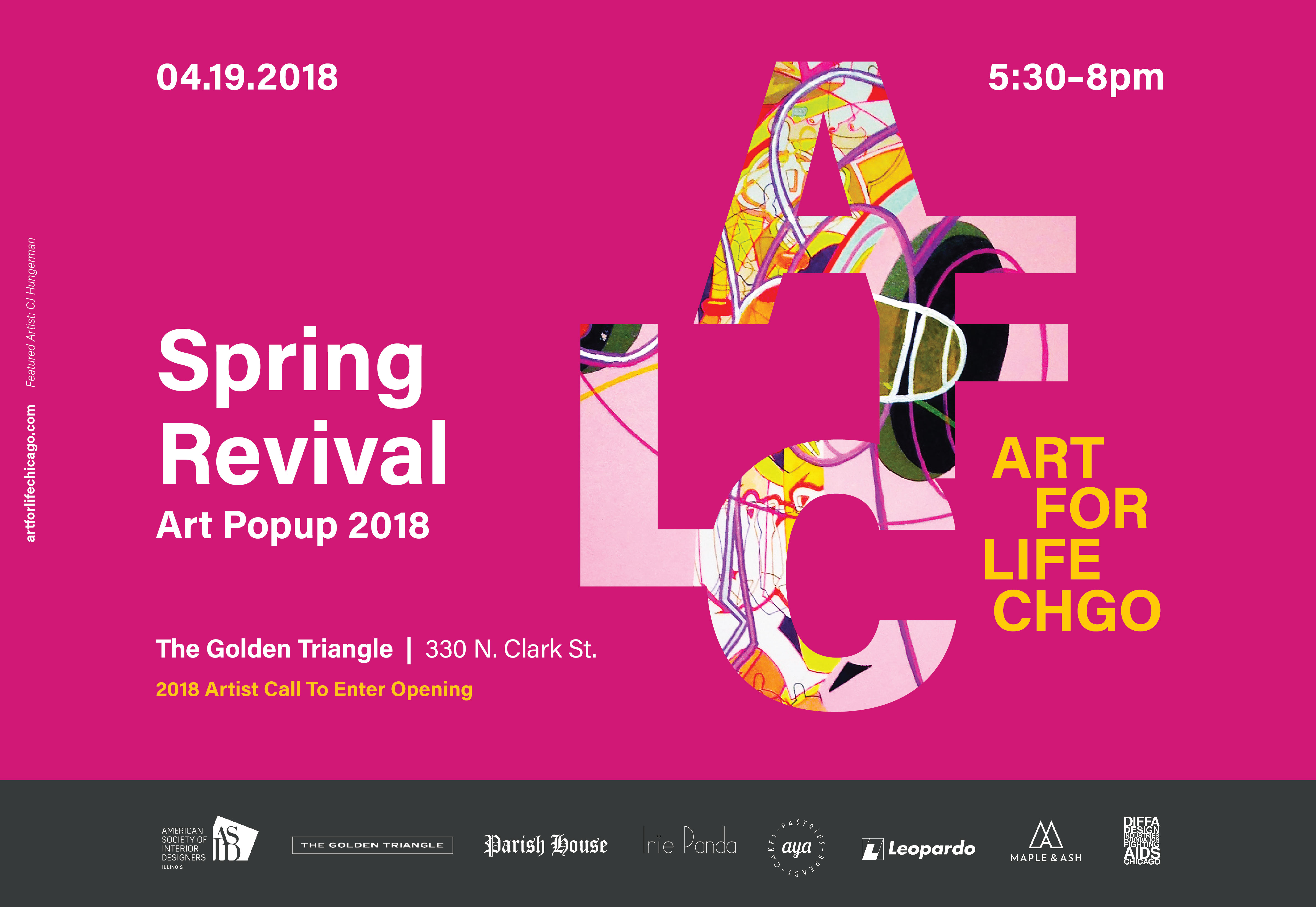 art for life chgo spring revival pop up 2018