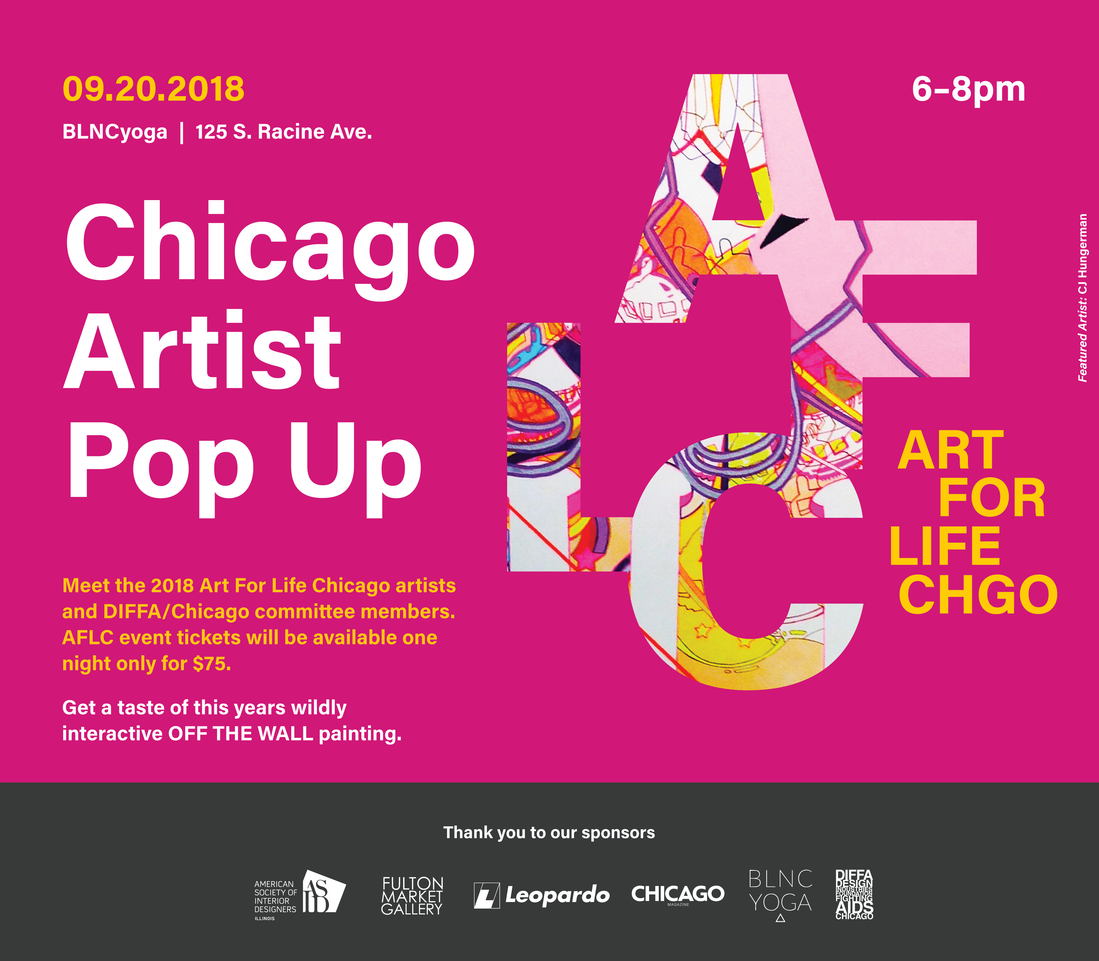 ART FOR LIFE Chicago Artist Pop Up