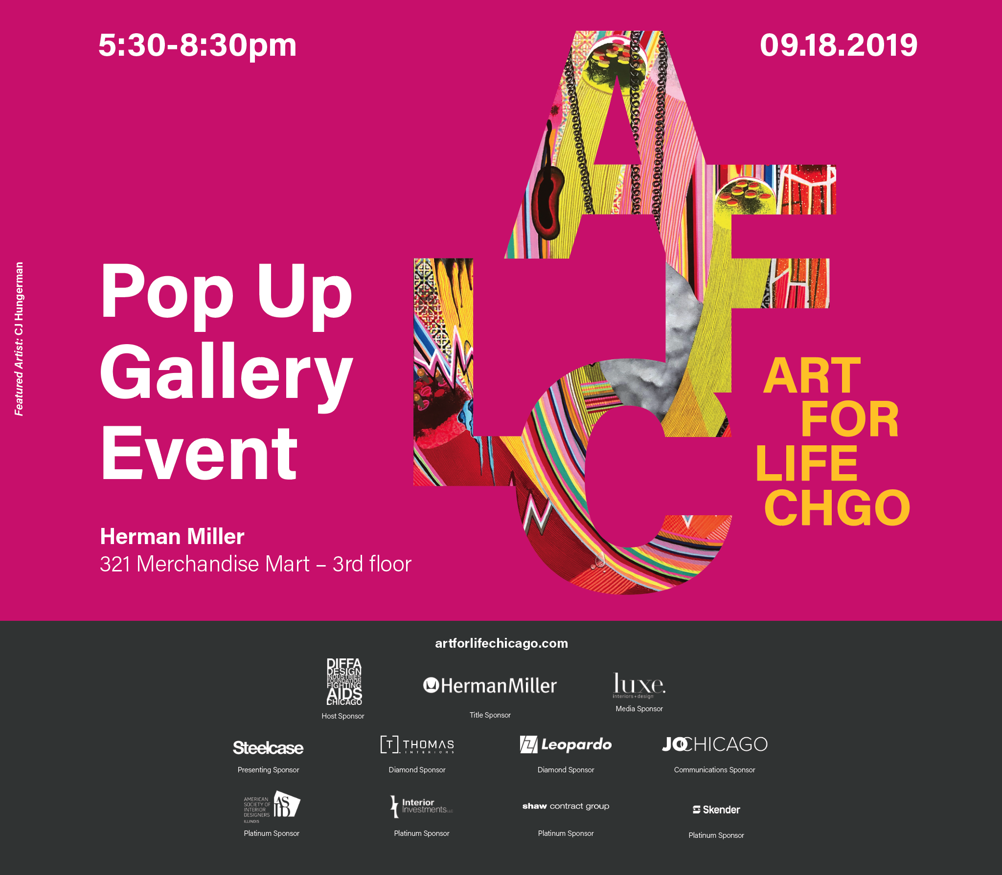 AFLC Gallery Pop Up at Herman Miller