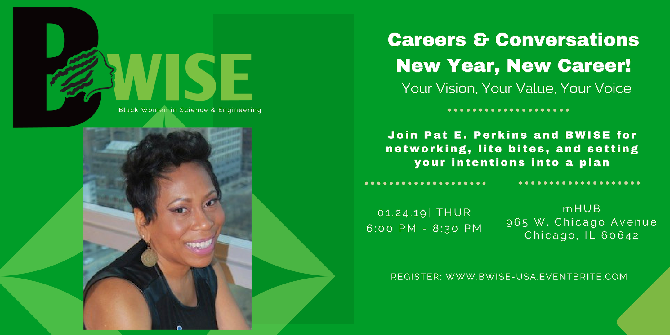 BWISE Presents: Careers and Conversations: New Year, New Career!