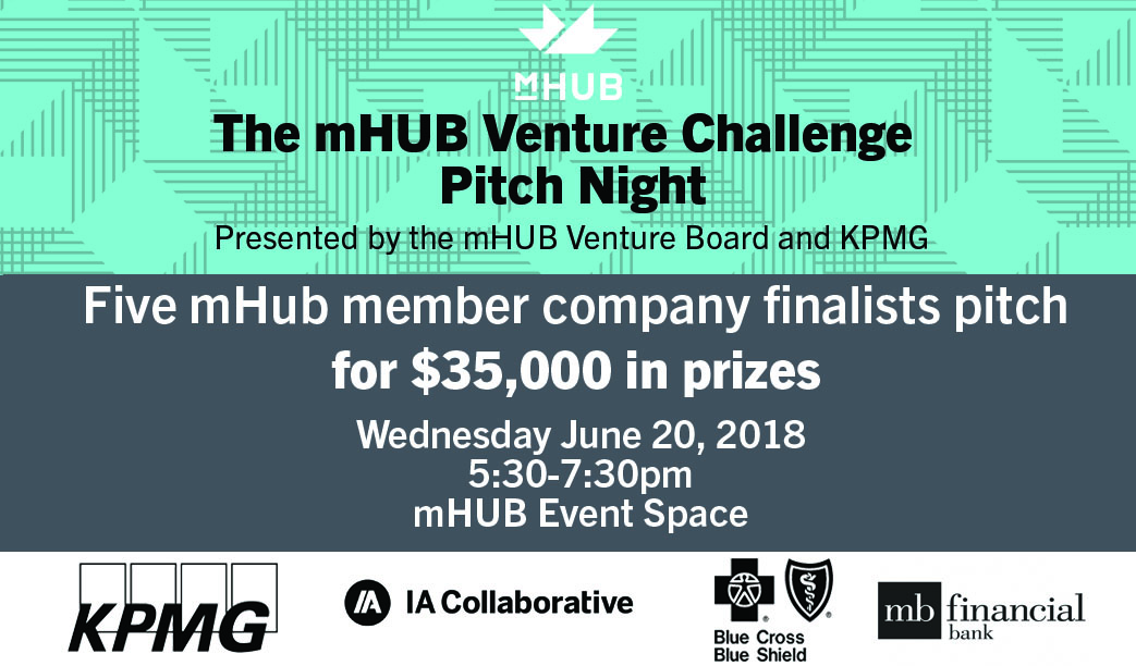 mHUB Venture Board Challenge Pitch Night