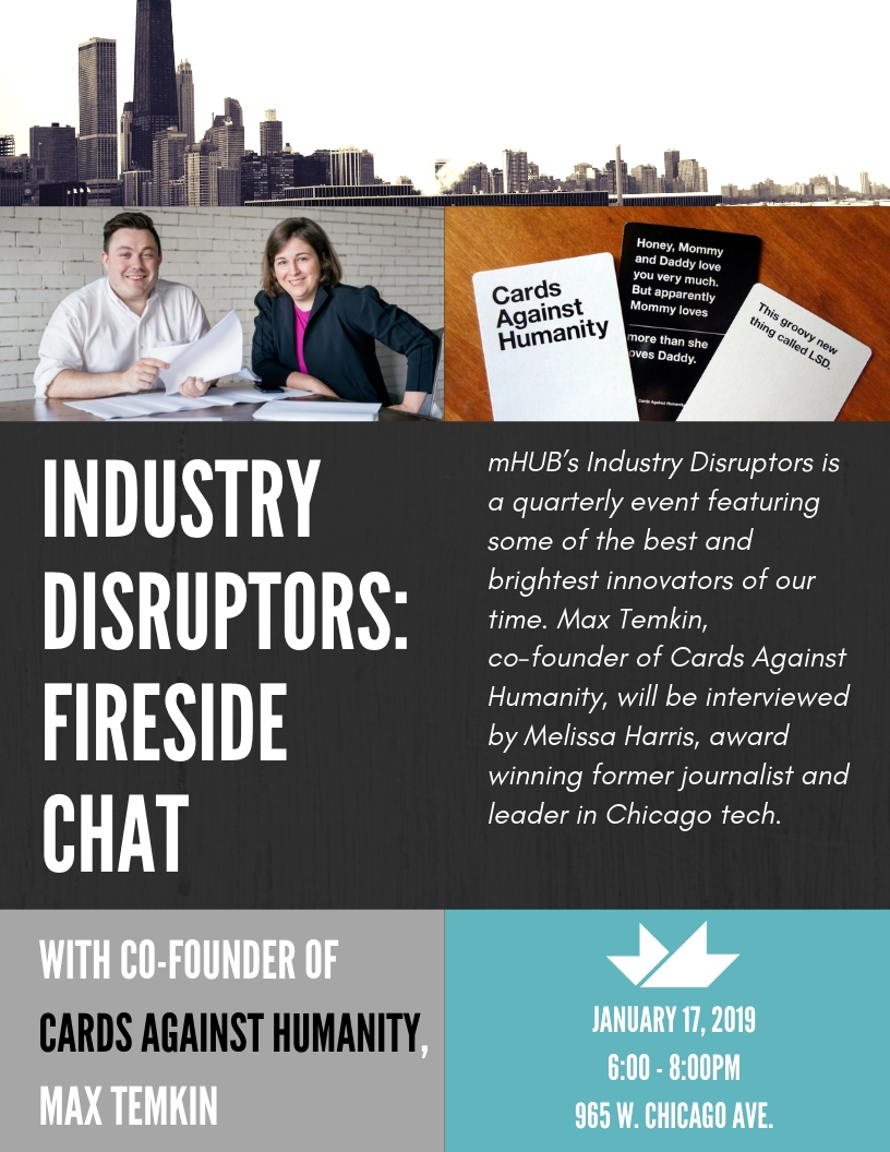 Industry Disruptors: Fireside Chat with Founder of Cards Against Humanity, Max Temkin