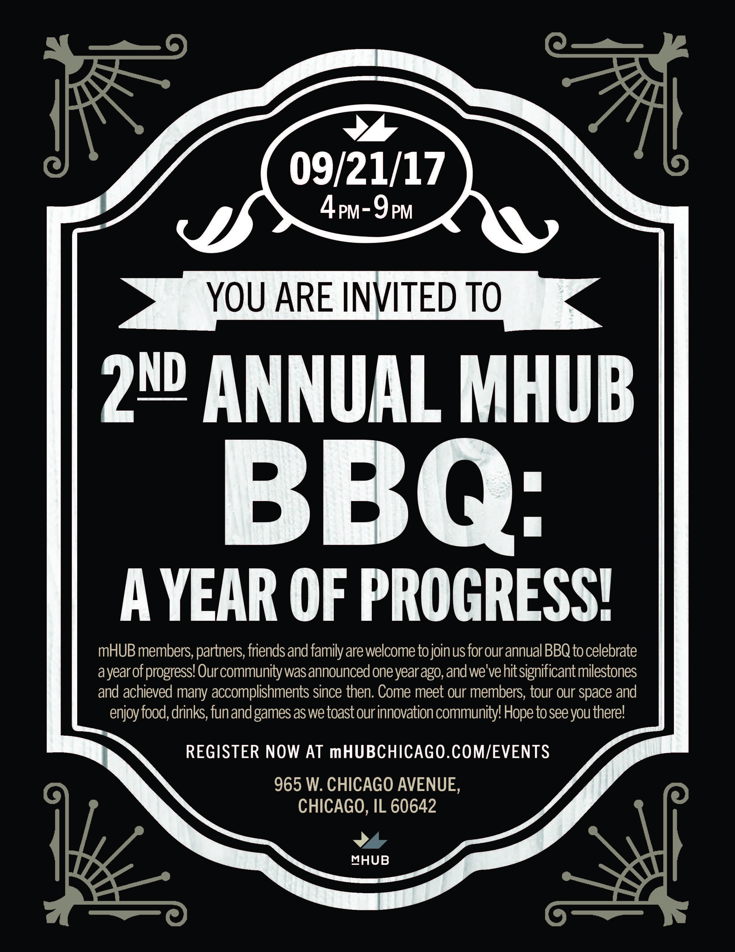 2nd Annual mHUB BBQ: A Year of Progress!