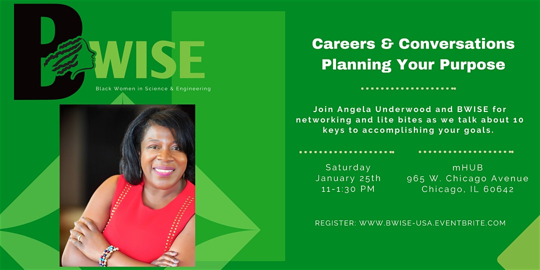 BWISE: Careers & Conversations - Planning Your Purpose
