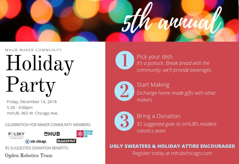 5th Annual Maker Community Holiday Party