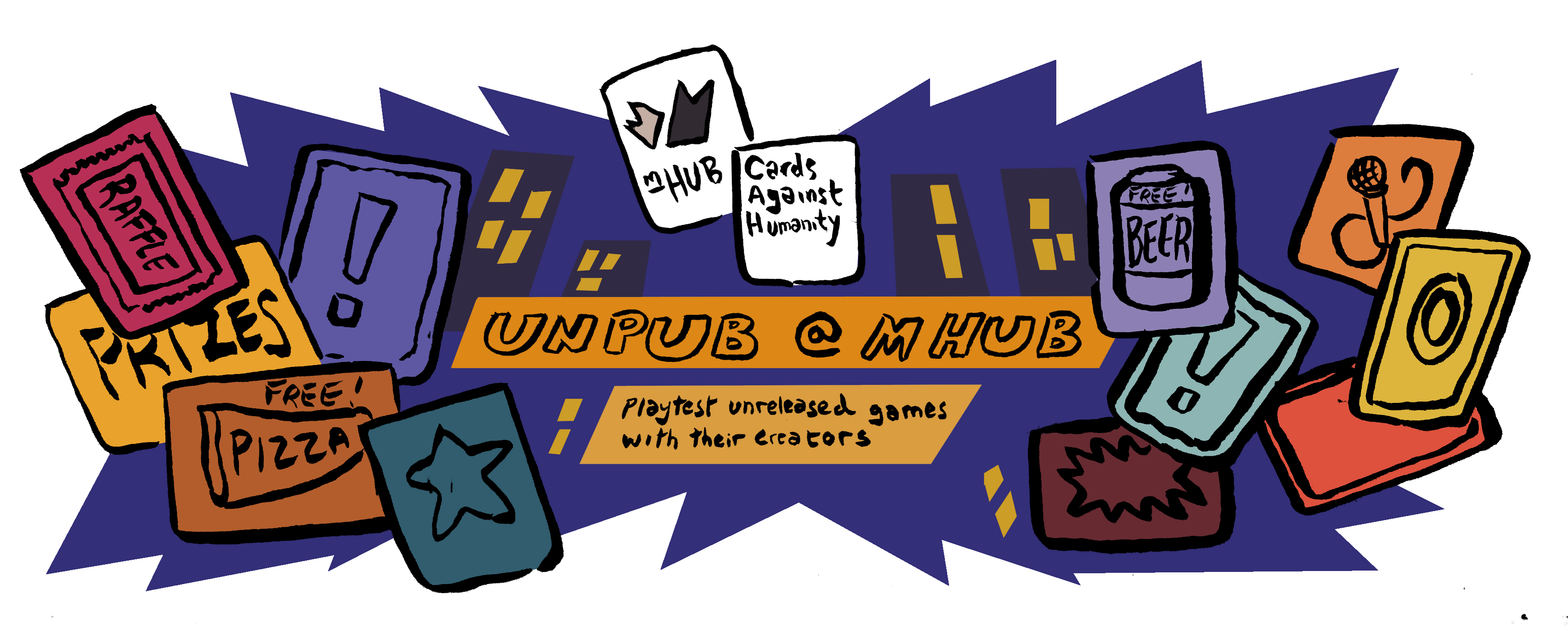Cards Against Humanity | unPUB with mHUB