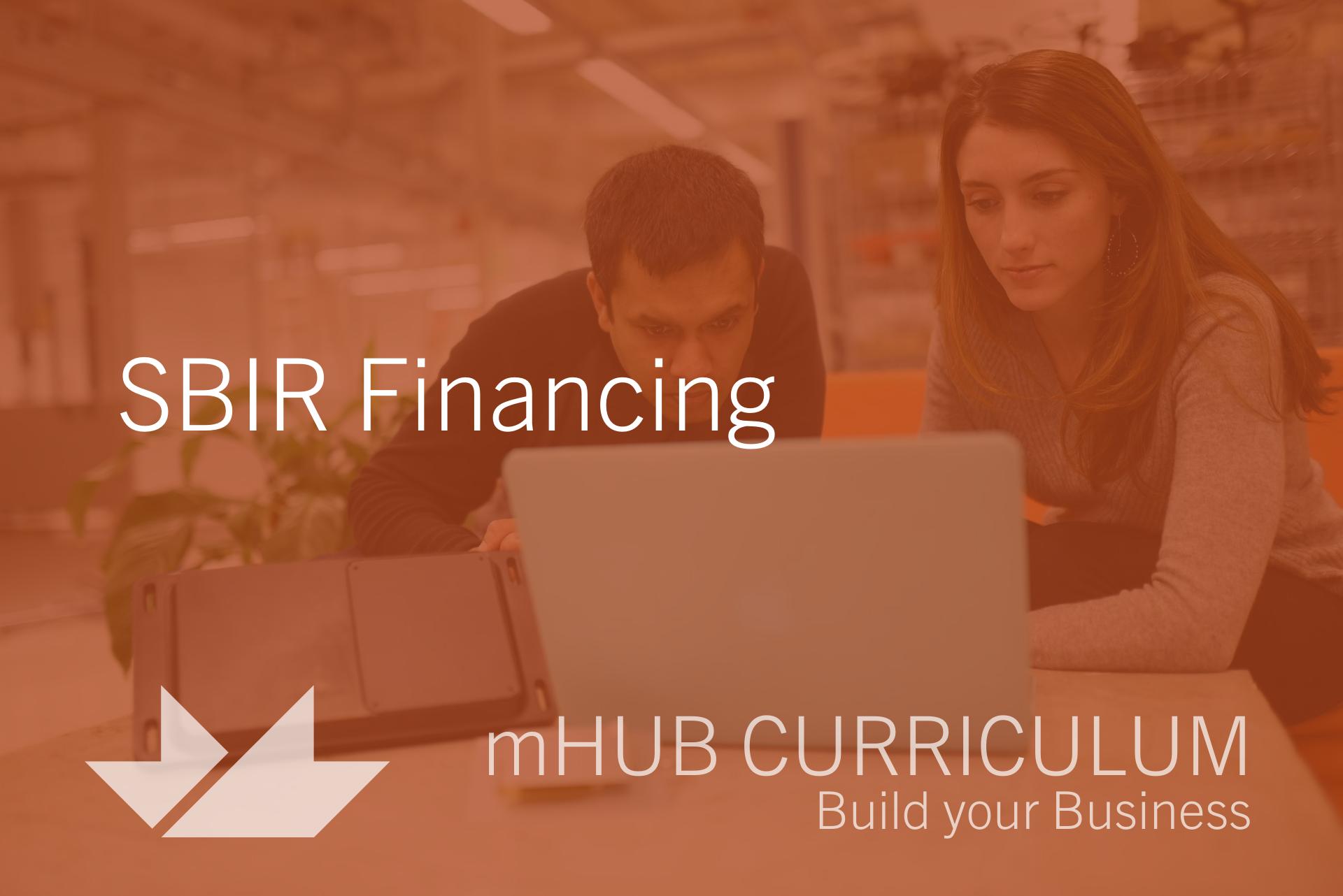 SBIR Financing