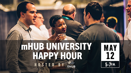 mHUB University Happy Hour