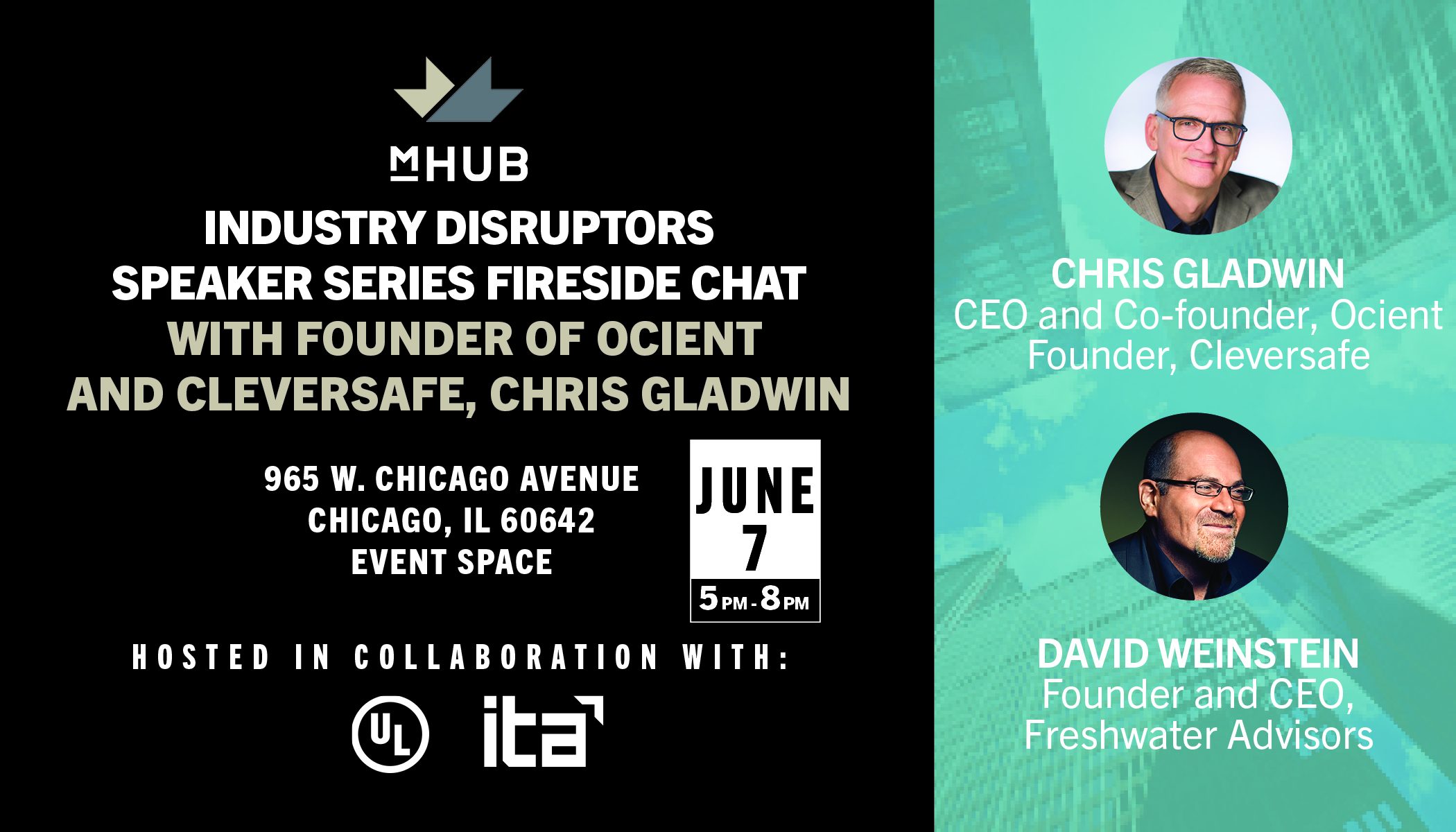 industry disruptors fireside chat with founder of ocient and