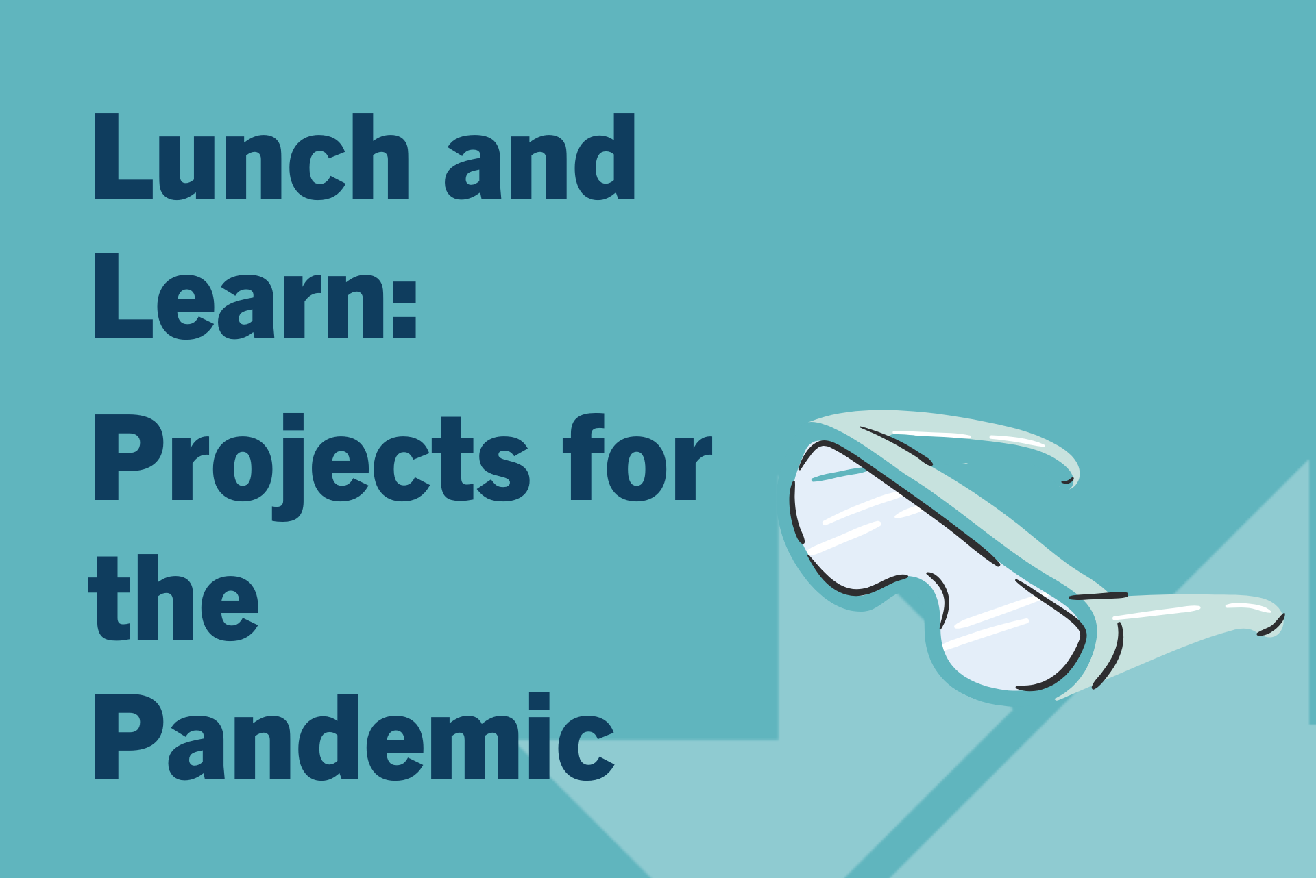 Lunch and Learn: Projects for the Pandemic