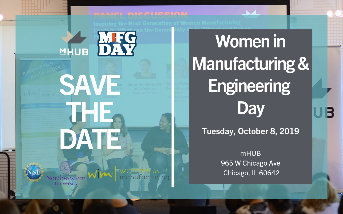 SAVE THE DATE: Women in Manufacturing and Engineering Day