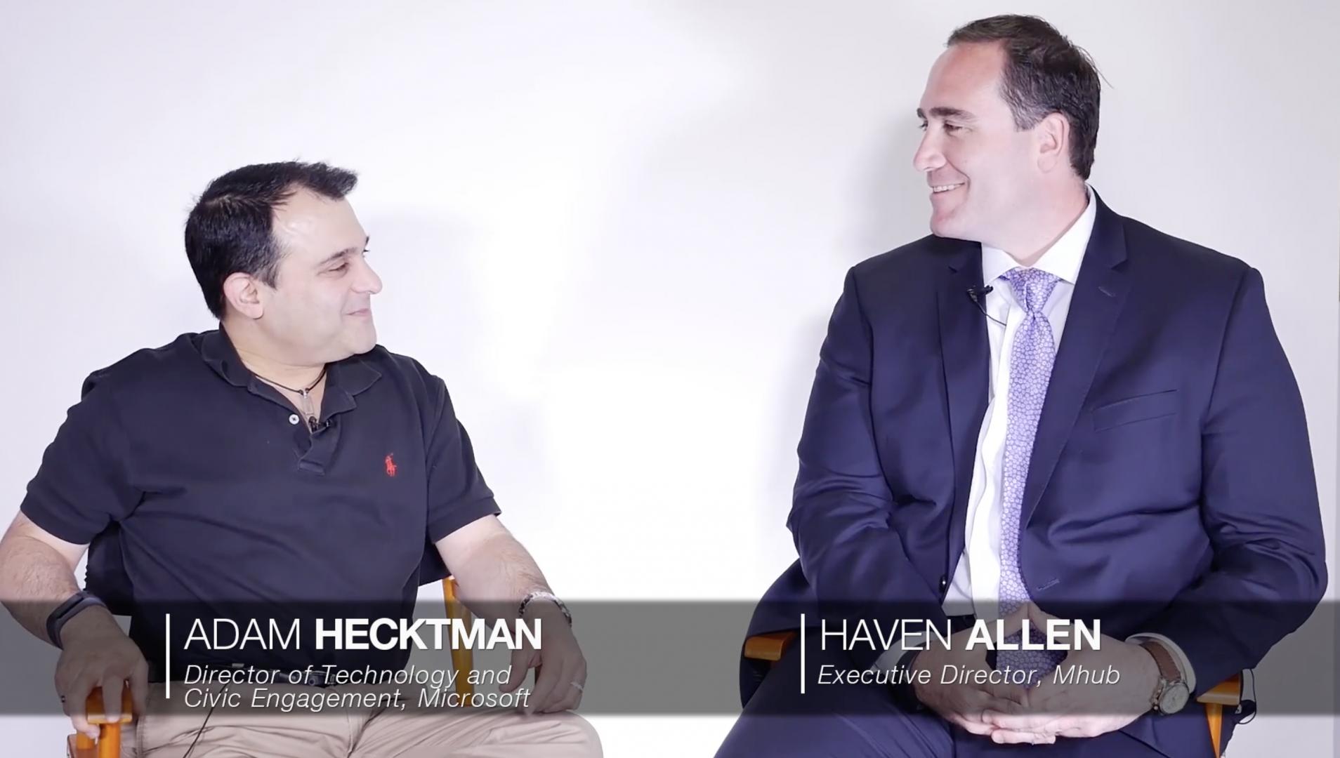 Haven Allen talks to Microsoft Big Shoulders [video] 2017