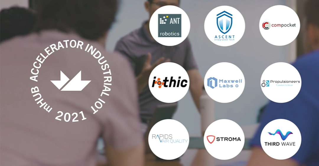 meet the 9 IIoT Teams in the Inaugural cohort of the mHUB physical product startup Accelerator