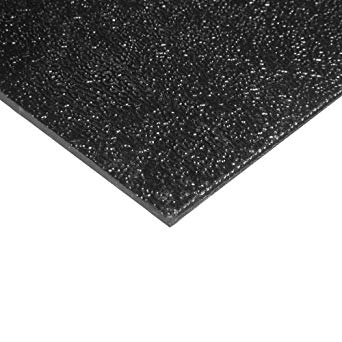 "ABS Sheet - 1/4"" Black"