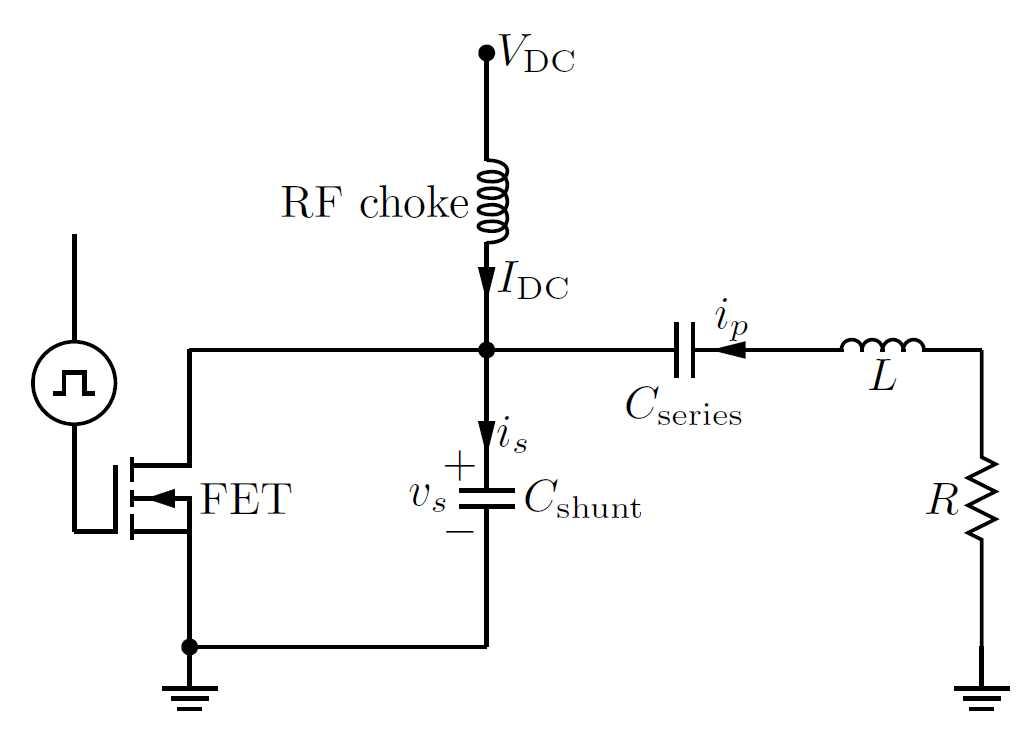 Class-E Circuit Diagram