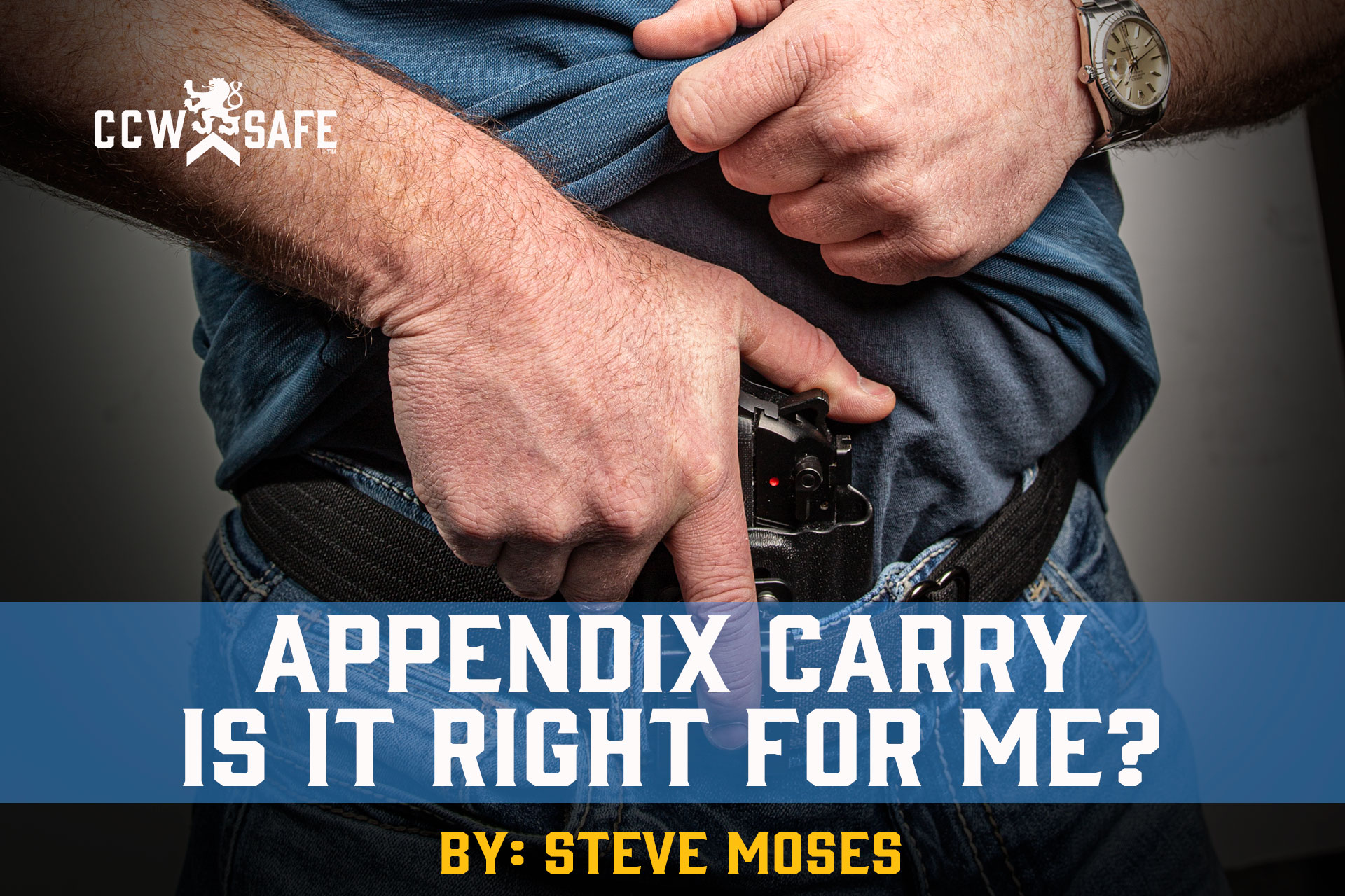 APPENDIX CARRY: IS IT RIGHT FOR ME?