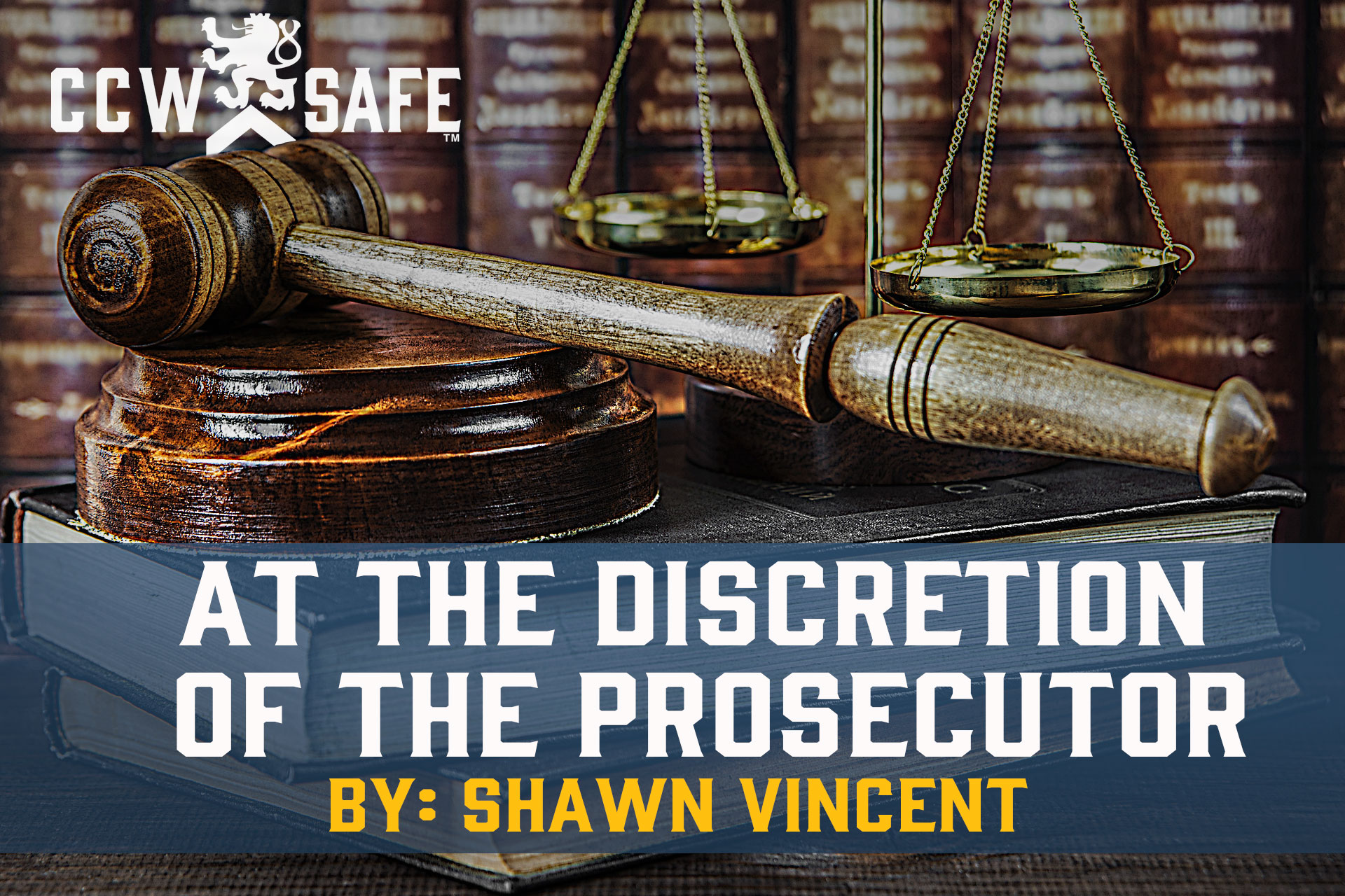 At the Discretion of the Prosecutor