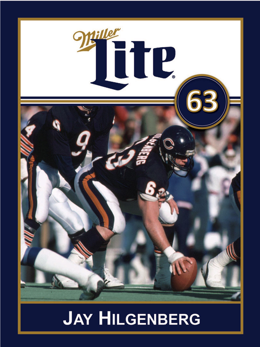 Miller Lite Chicago Bears Appearance with Jay Hilgenberg