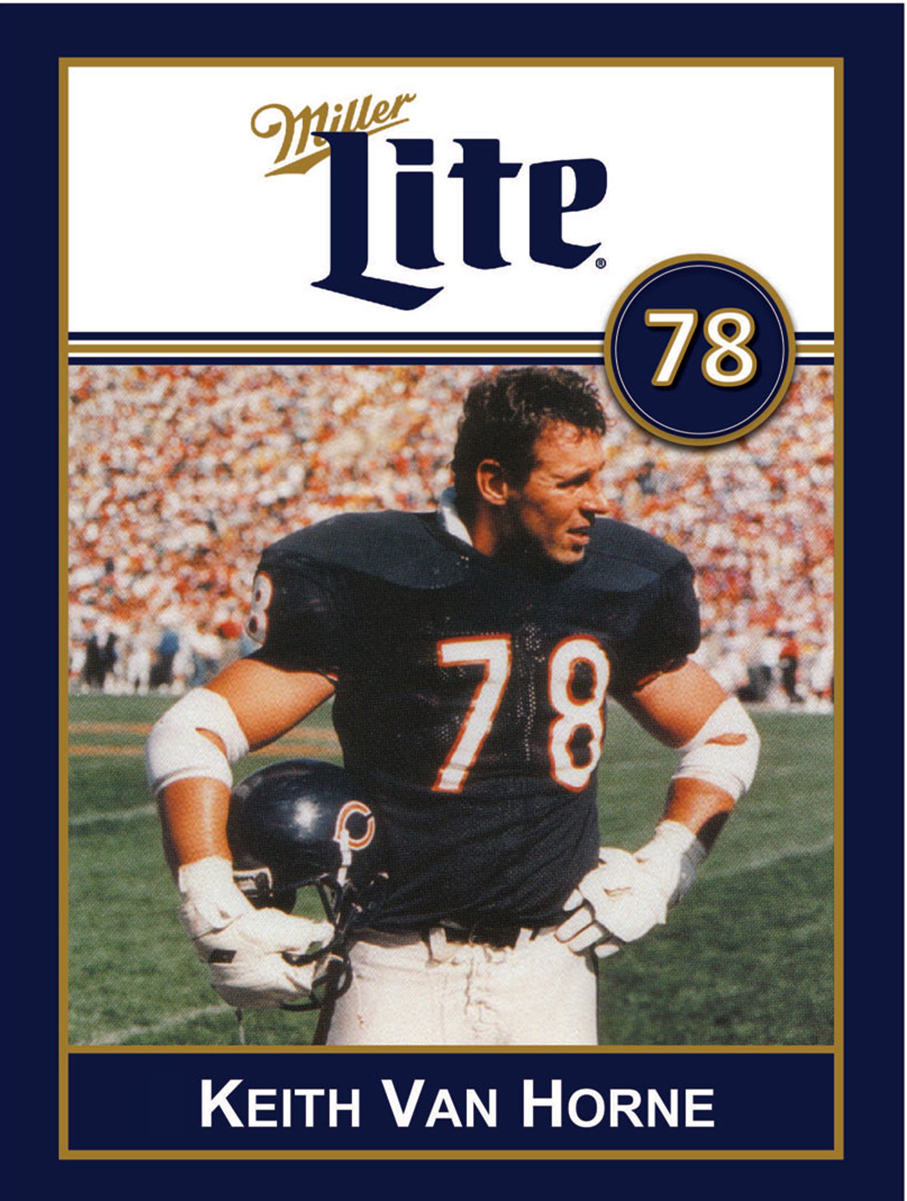 Miller Lite Chicago Bears Appearance with Keith Van Horne