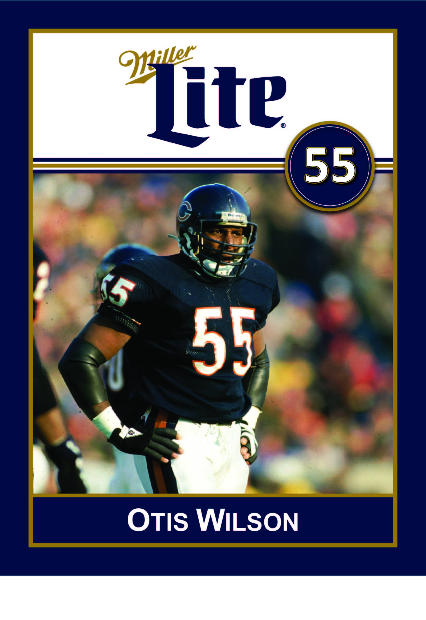 Miller Lite Chicago Bears Alumni Appearance with Otis Wilson