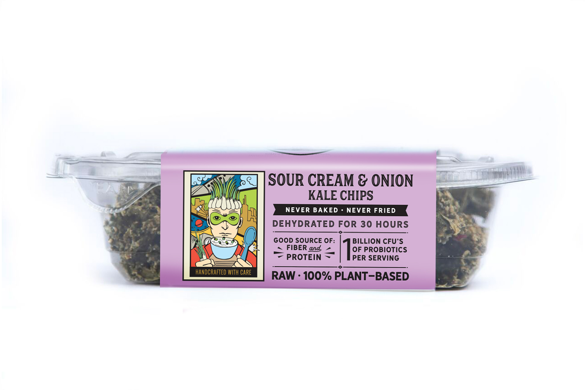 sour cream and onion kale chips side 2
