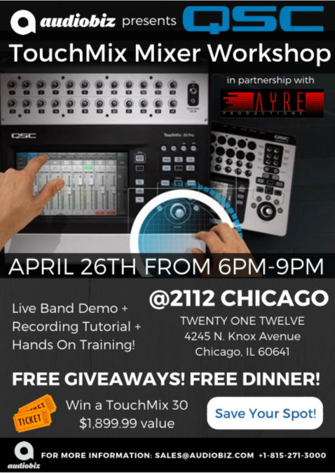 TouchMix Mixer Workshop