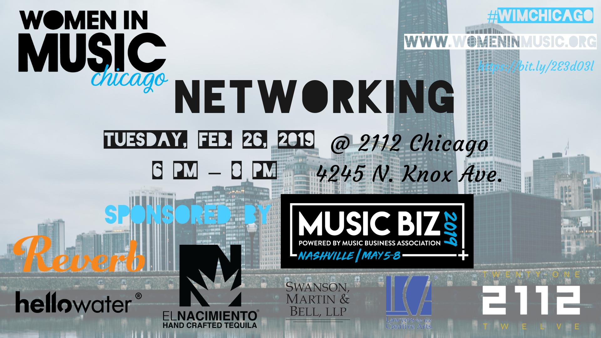 Women In Music Chicago - Networking
