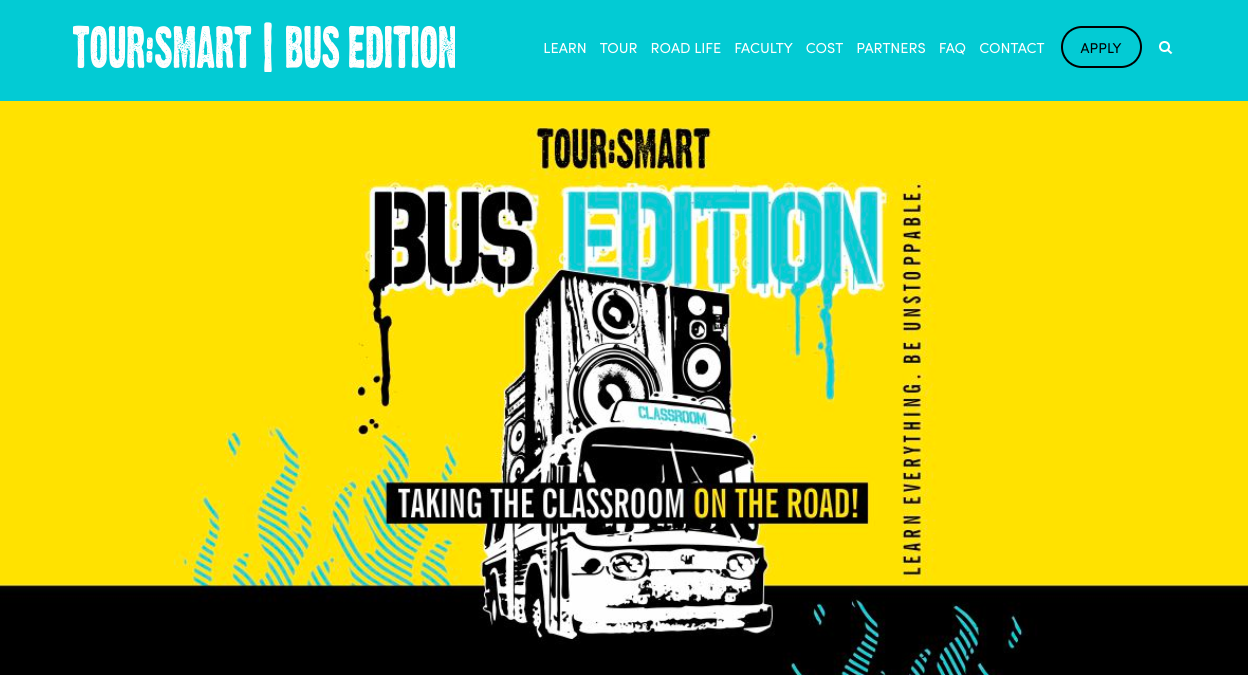 Tour:Smart Bus Edition - Info Session with Martin Atkins