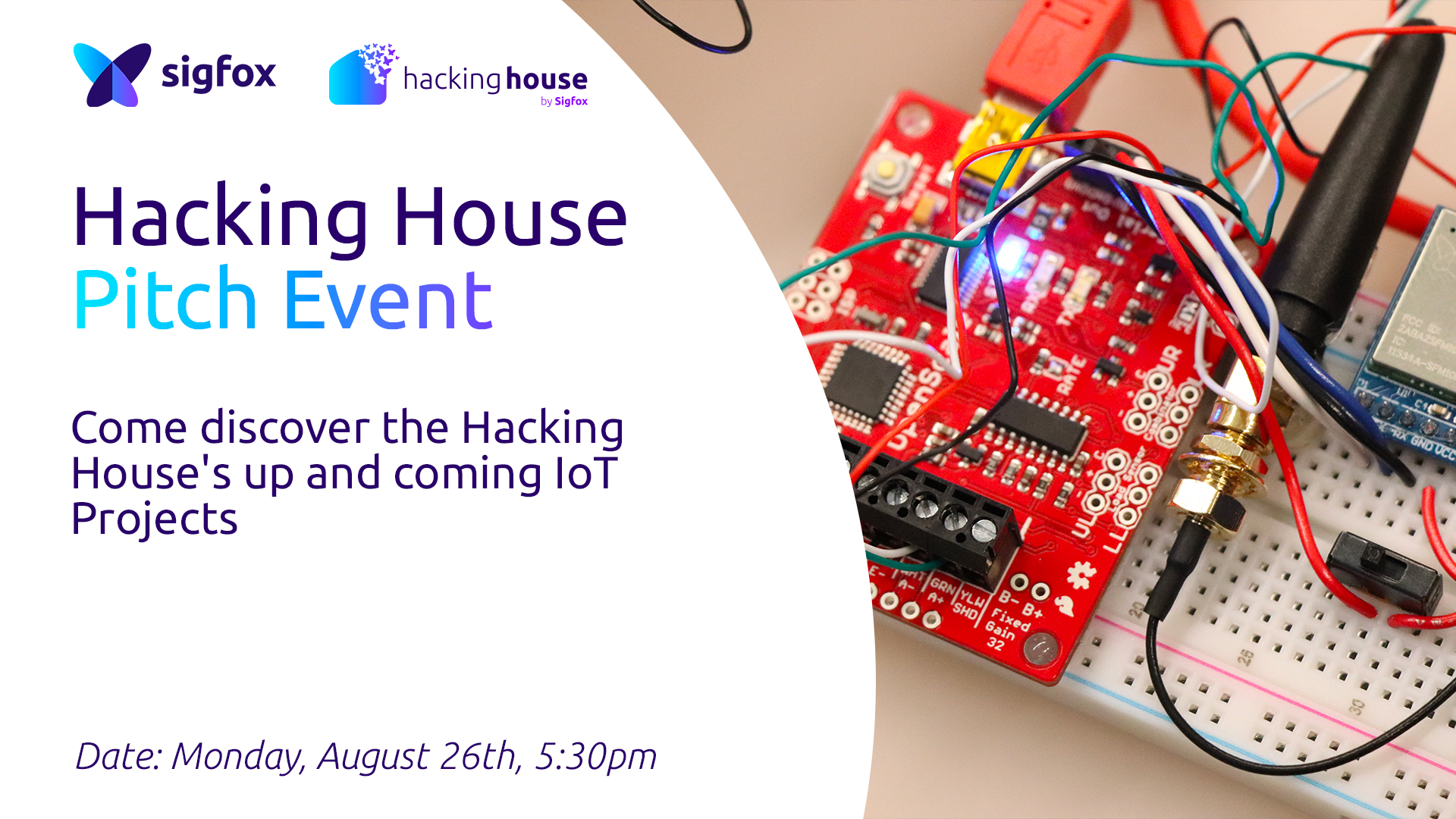 Sigfox Hacking House Pitch Event