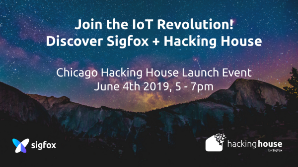 Sigfox Hacking House Launch Event