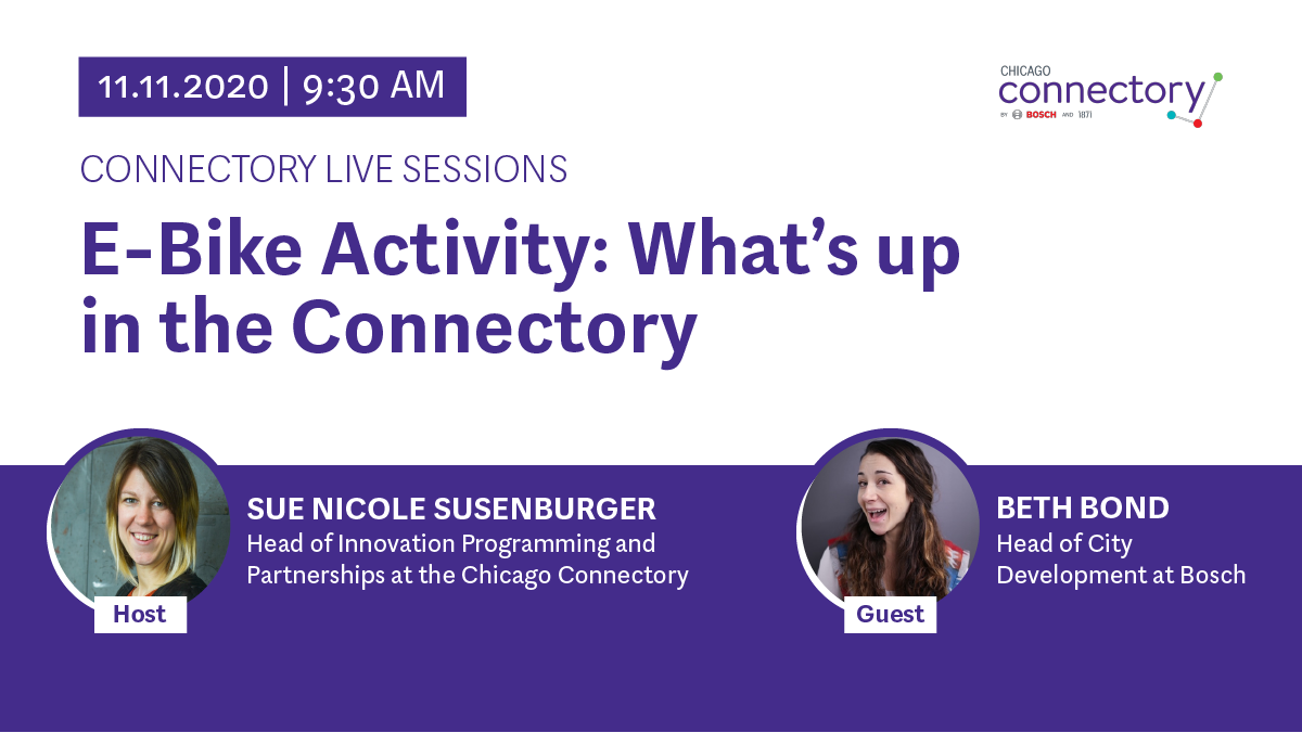 Connectory Live Session- E-Bike Activity: What's up in the Connectory