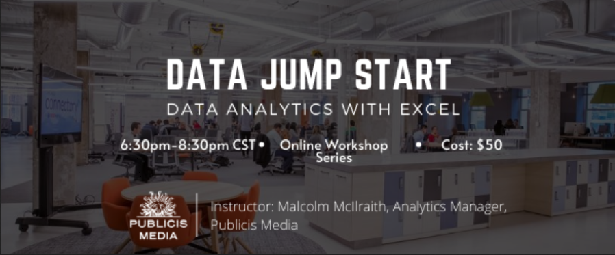 Data Jump Start: Data Analytics with Excel
