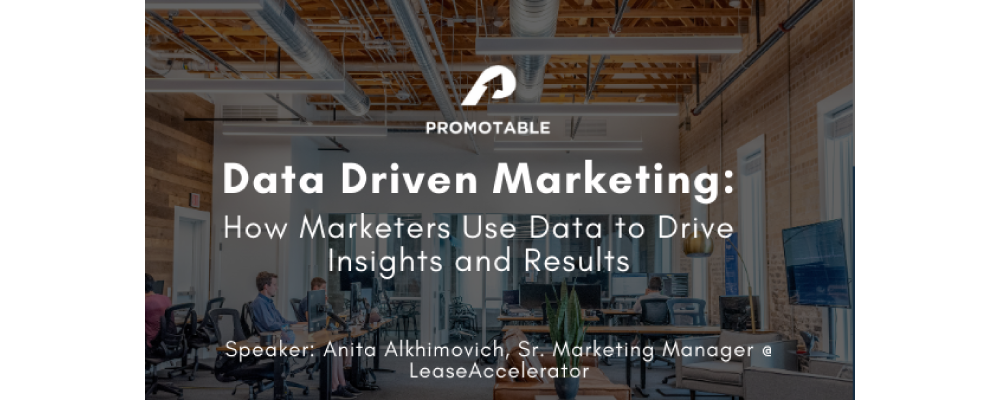 Data Driven Marketing: How Marketers use Data to Drive Insights and Results