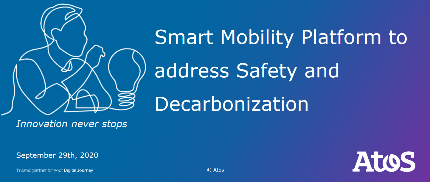Smart Mobility Platform to address Safety and Decarbonization
