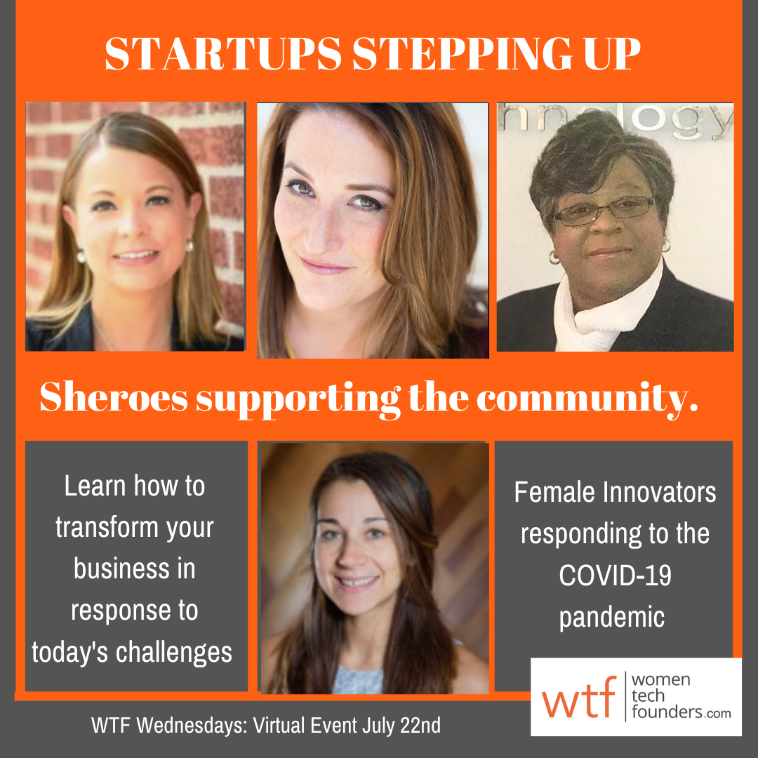 Startups Stepping Up: Responding to the COVID-19 Pandemic