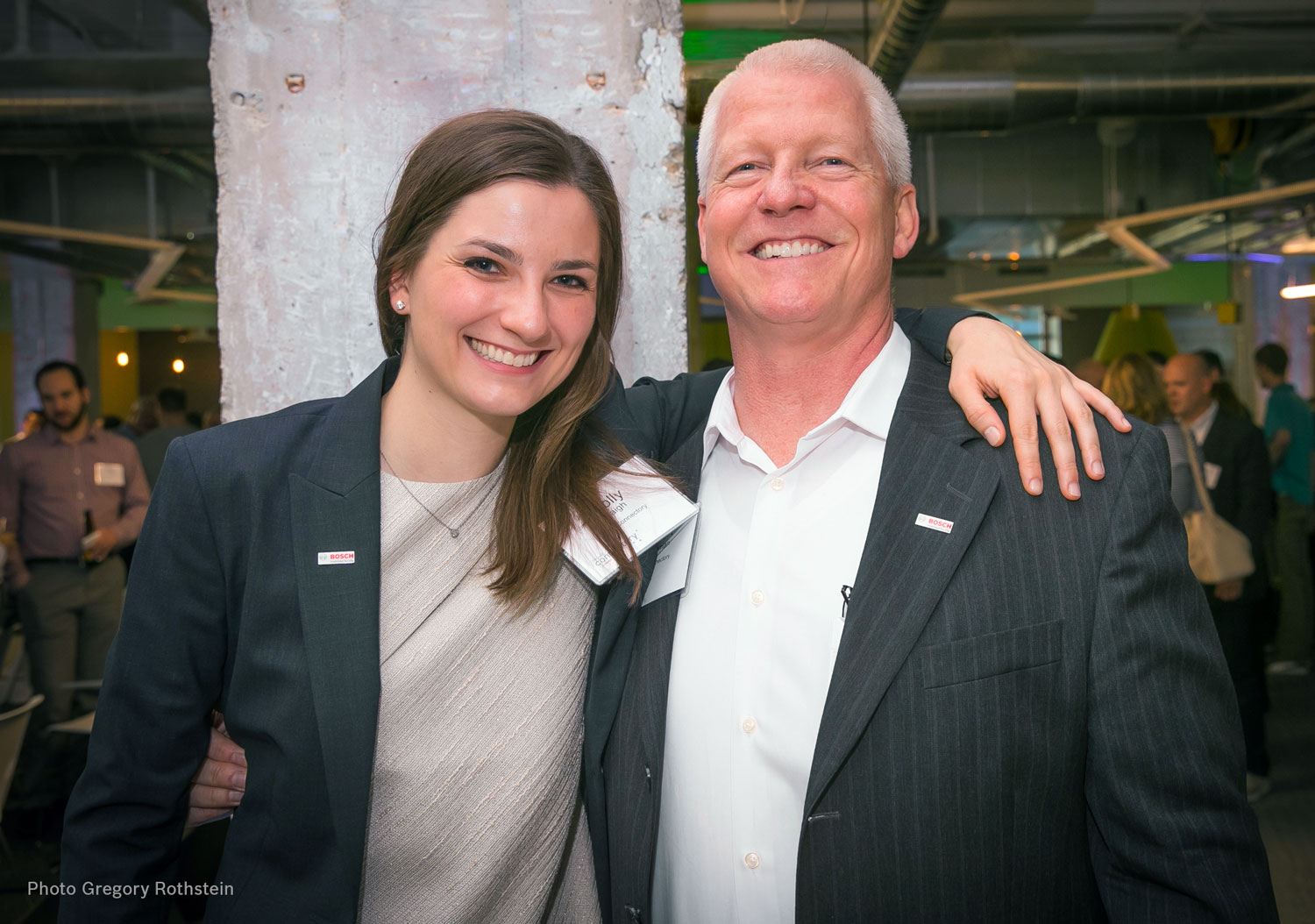 Molly Haigh & Robert Wildeman at an Innovation Event | Chicago Connectory