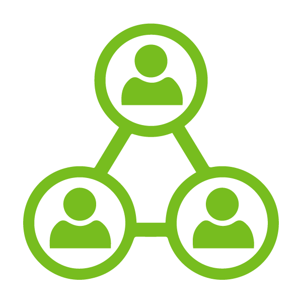 Corporate Partner Network Green Icon | Chicago Connectory